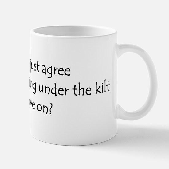 Under the Kilt Mug