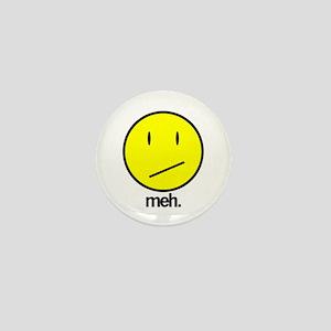 Meh Mini Button