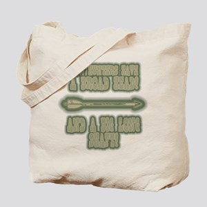 big long shaft hunting gifts Tote Bag