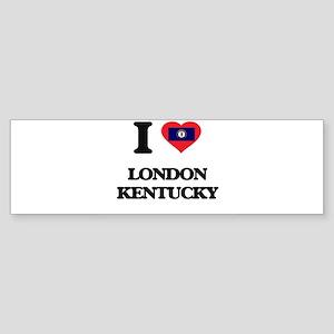 I love London Kentucky Bumper Sticker