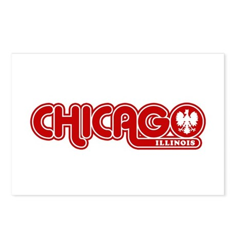 Chicago Polish Postcards (Package of 8)