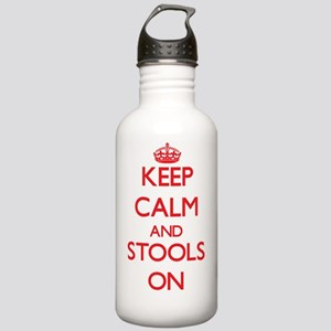 Keep Calm and Stools O Stainless Water Bottle 1.0L