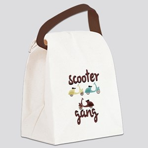 Scooter Gang Canvas Lunch Bag