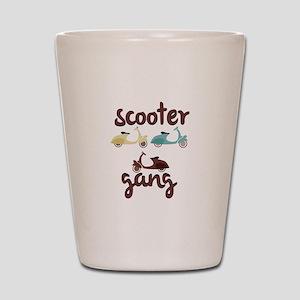 Scooter Gang Shot Glass