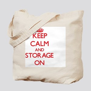 Keep Calm and Storage ON Tote Bag