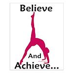 Gymnastics Poster - Believe