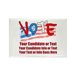 Personalize Your Vote! Magnets
