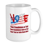 Personalize Your Vote! Mugs