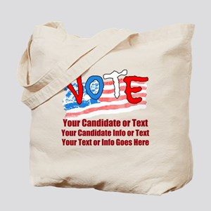 Personalize Your Vote! Tote Bag