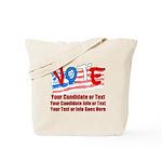 Personalize Your Vote! Tote Bag