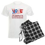 Personalize Your Vote! Men's Light Pajamas