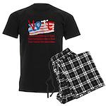 Personalize Your Vote! Men's Dark Pajamas