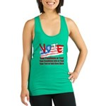 Personalize Your Vote! Racerback Tank Top