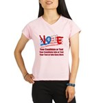 Personalize Your Vote! Performance Dry T-Shirt
