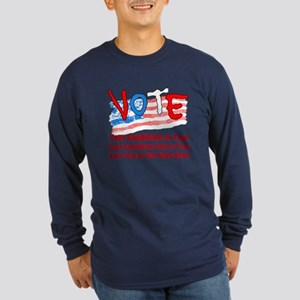 Personalize Your Vote! Long Sleeve T-Shirt