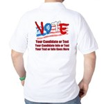 Personalize Your Vote! Golf Shirt