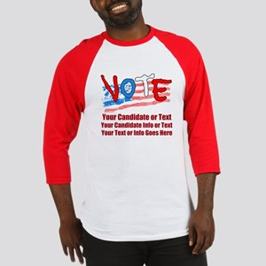 Personalize Your Vote! Baseball Jersey