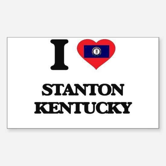 I love Stanton Kentucky Decal