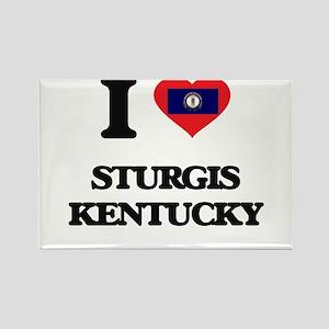 I love Sturgis Kentucky Magnets