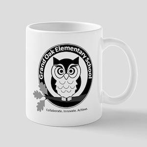 GOE black and white Mugs