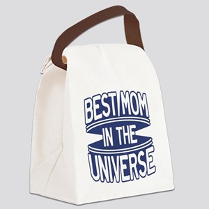 Best Mom in the Universe Canvas Lunch Bag