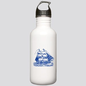 Clipper Ship - Navy Bl Stainless Water Bottle 1.0L