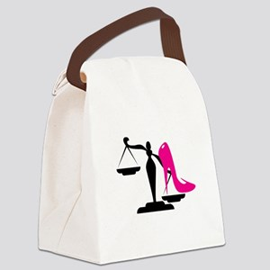Heel&Scale 1 Canvas Lunch Bag