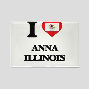 I love Anna Illinois Magnets