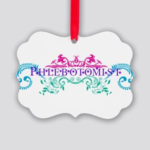 Phlebotomist - Occupation Designs Picture Ornament