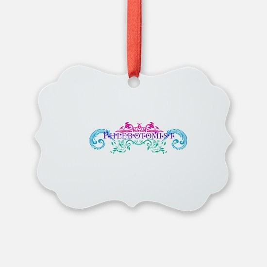 Phlebotomist - Occupation Designs Ornament