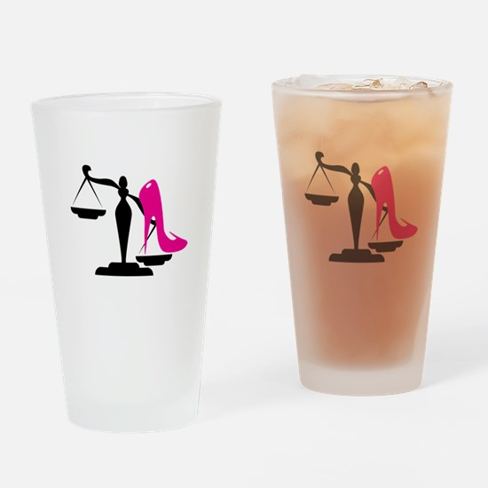 Heel&Scale 1 Drinking Glass