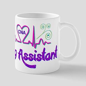 Nursing Assistant CNA Heart Beat Mugs