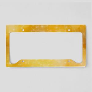 Peace License Plate Holder