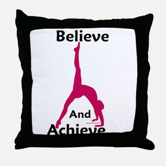 Gymnastics Pillow - Believe