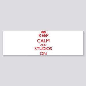 Keep Calm and Studios ON Bumper Sticker