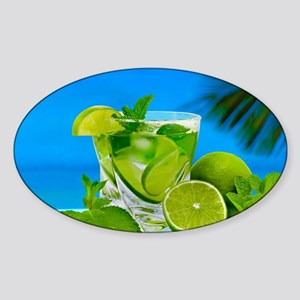Fresh Water With Lemons And Mint Sticker