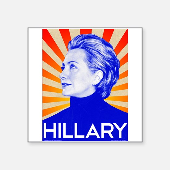 Hillary Clinton for President in 2016 t sh Sticker