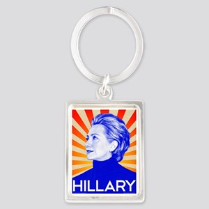 Hillary Clinton for President in 2016 t Keychains