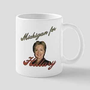 Michigan for Hillary Mug