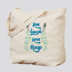 Hula Hoop Dance - Live Laugh Love Hoop – Tote Bag