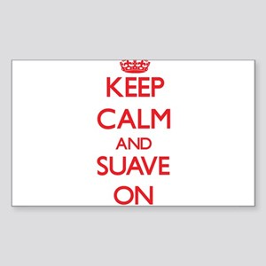 Keep Calm and Suave ON Sticker