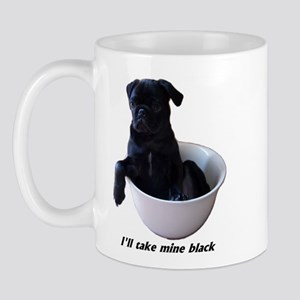 23 Pugs - I'll take mine black Mug