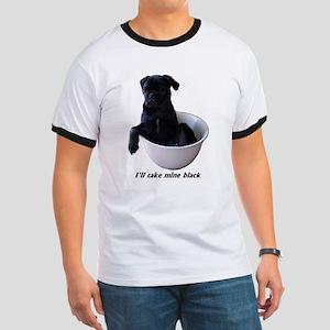 23 Pugs - I'll take mine black Ringer T