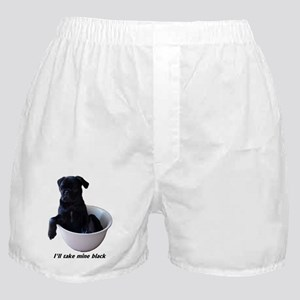 23 Pugs - I'll take mine black Boxer Shorts