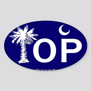 Isle of Palms, SC Flag Sticker