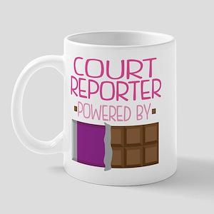Court Reporter Mug