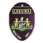 Lebowa Reaction Unit Ornament (Oval)