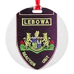 Lebowa Reaction Unit Round Ornament
