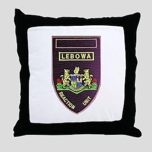 Lebowa Reaction Unit Throw Pillow
