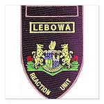 Lebowa Reaction Unit Square Car Magnet 3